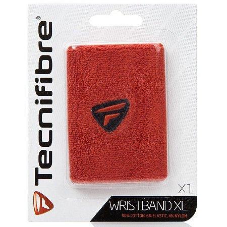Munhequeira Tecnifibre Wristband Comprida - Vermelha