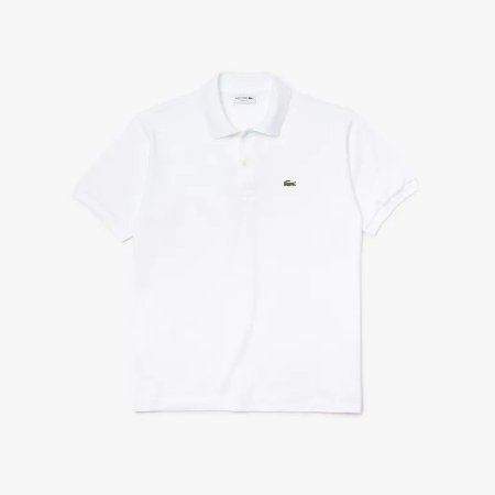 Camisa Polo Lacoste Classic Fit Branco