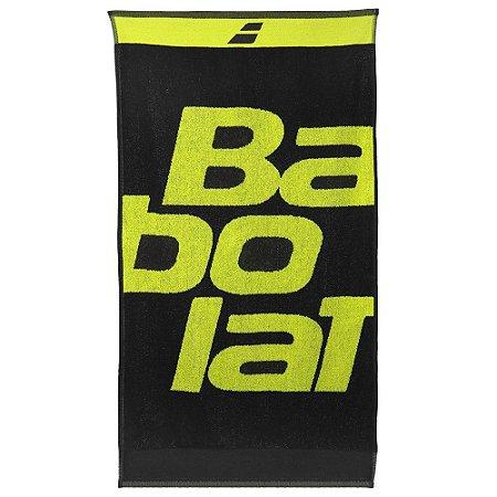 Toalha Babolat Aero Medium - Amarelo e Preto