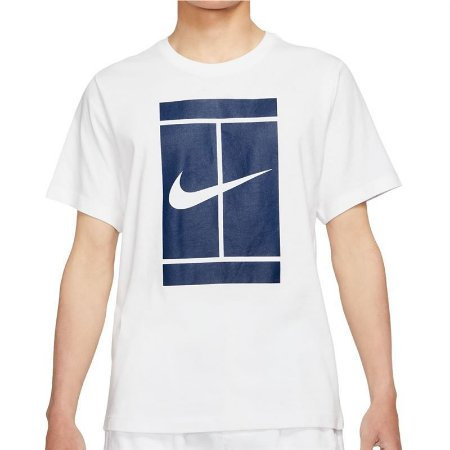 Camiseta Nike Court SSNL - Branca