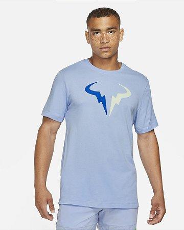 Camiseta Nike MC Nkct Rafa - Azul Claro