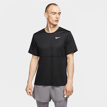 Camiseta Nike Breathe Run Top SS - PRETA