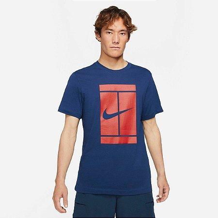 Camiseta Nike Court SSNL- Azul Marinho