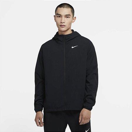 Jaqueta Nike Run Stripe Masculina - Preta