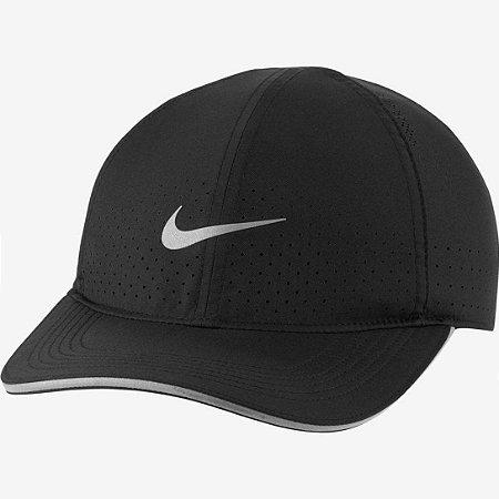 Bone Nike Dry-Fit AeroBill Featherlight Preto