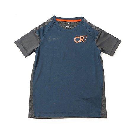 Camiseta Nike MC CR7 De Top SS Azul Marinho