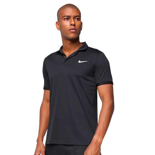 Camisa Polo Nike M NKCT Dry Preto