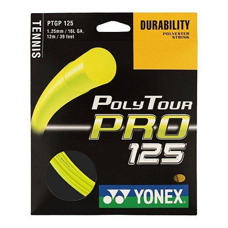 Corda Yonex Poly Tour Pró 1,25 Set 12m - Amarela