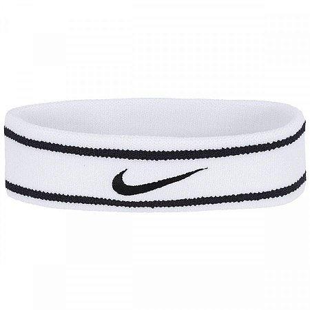 Testeira Nike Dri-Fit Branco e Preto