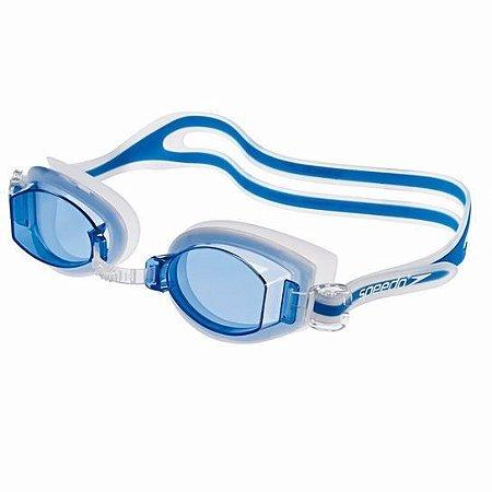 Óculos De Natação Speedo New Shark - Azul Cristal