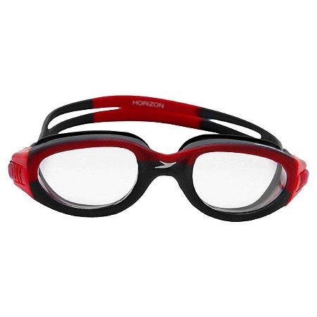Óculos De Natação Speedo Onix Horizon Vermelho/Cristal