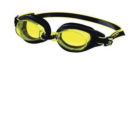 Óculos de Natação Freestyle 3.0 Speedo - Preto e Amarelo
