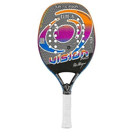 Raquete de Beach Tennis Vision Super Carbon Elite 5