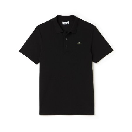 Polo Lacoste Sport Tennis Regular Fit Lisa - Preta