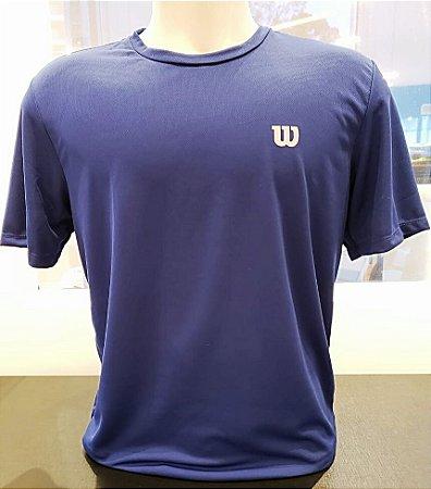 Camiseta Wilson Training Azul Vl - Masculino
