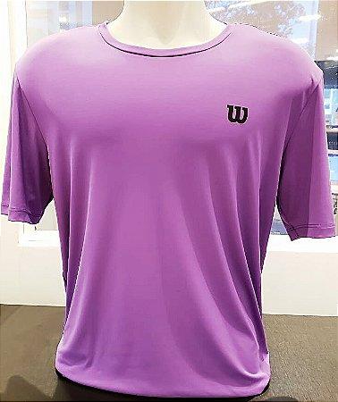 Camiseta Wilson Training Vl Roxo - Masculino