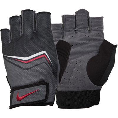 Luva Fitness Masculina Gloves Preto/Cinza/Vermelho P