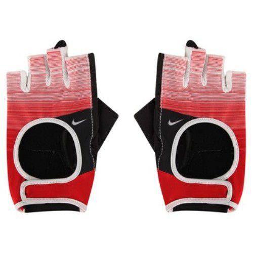Luva Fitness Nike Womens Fit Cross Training Gloves Vermelha P