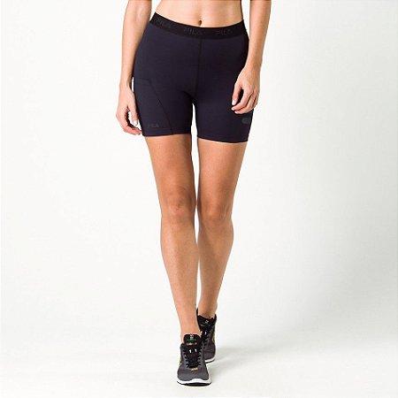 Shorts Fem. Fila Compress Fit Preta