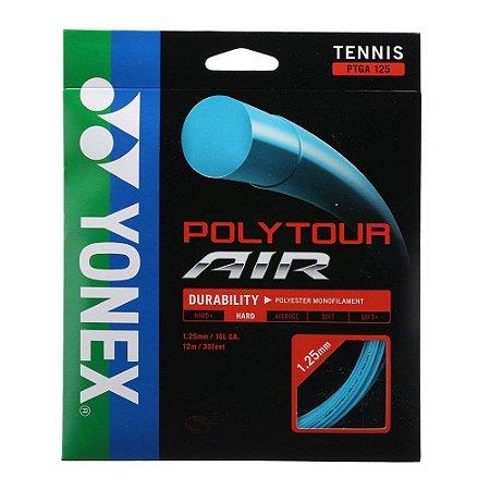 Corda Yonex Poly Tour Air 16l 1.25mm - Set Individual - Azul