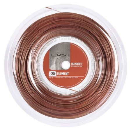 Corda Luxilon Element 16L 1.25mm - Rolo com 200 Metros