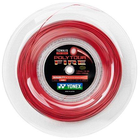Corda Poly Tour Fire 17L 1.25mm Amarela - Rolo com 200 Metros