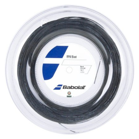 Corda Babolat RPM Blast 1.25mm 17l Preta - Rolo com 200 metros