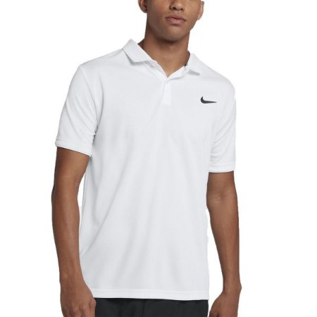 Polo Nike Court Dry Team Branca