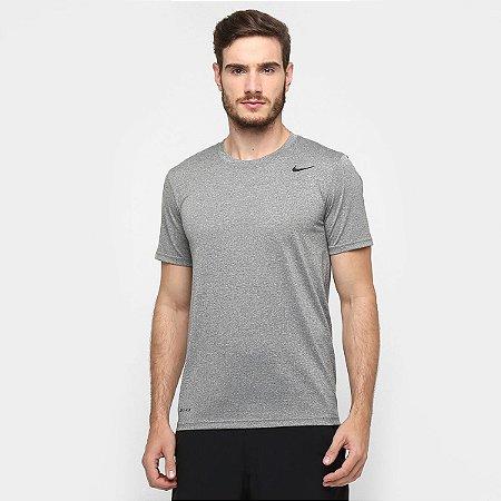 Camiseta Nike Dry Tee Cinza