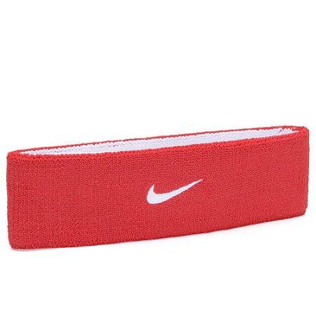 Testeira Nike Dri-Fit Dupla Face Vermelho e Branco