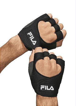 Luva Fila Fitness Master Preta