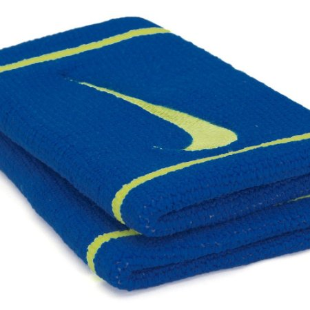 Munhequeira Comprida Nike Dri-Fit  - Azul e Amarelo