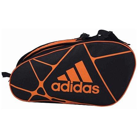 Raqueteira Adidas Control 1.9 Preto e Laranja