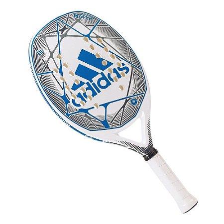 Raquete de Beach Tennis Adidas Match Branca e Azul