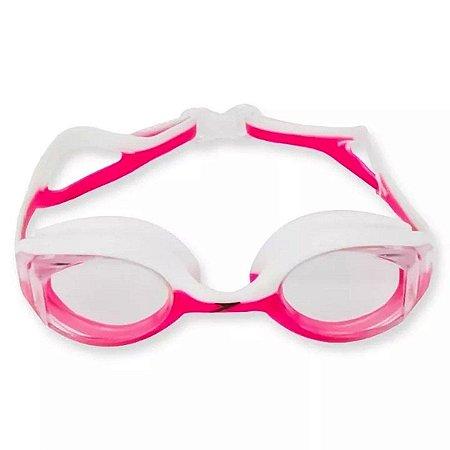 Óculos De Natação Speedo Focus - Rosa/Branco