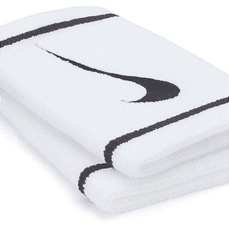 Munhequeira Comprida Nike Dri-Fit - Branco e Preto