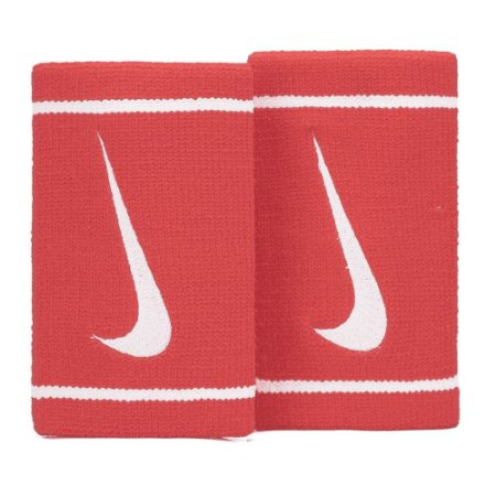 Munhequeira Comprida Nike Dri-Fit - Vermelho e Branco