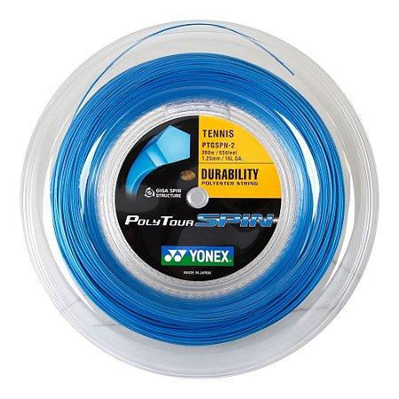 Corda Yonex Poly Tour Spin - Rolo com 200 metros