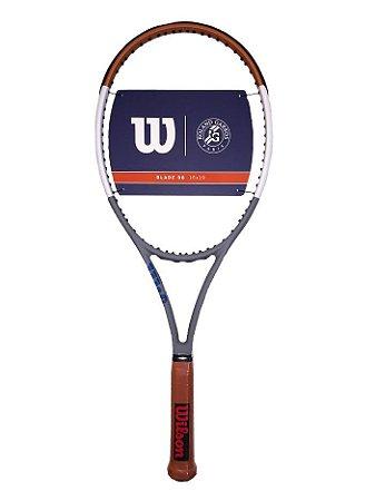 Raquete de Tênis Wilson Blade 98 V7 Roland Garros 2020