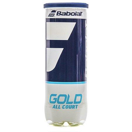 Bola de Tênis Babolat Gold All Court X3