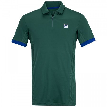 Camisa Polo Fila 70 Tech Verde