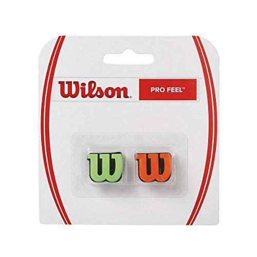 Antivibrador Wilson Pro Feel - Verde e Laranja