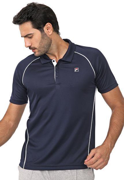 Camisa Polo Fila Cinci - Azul Marinho
