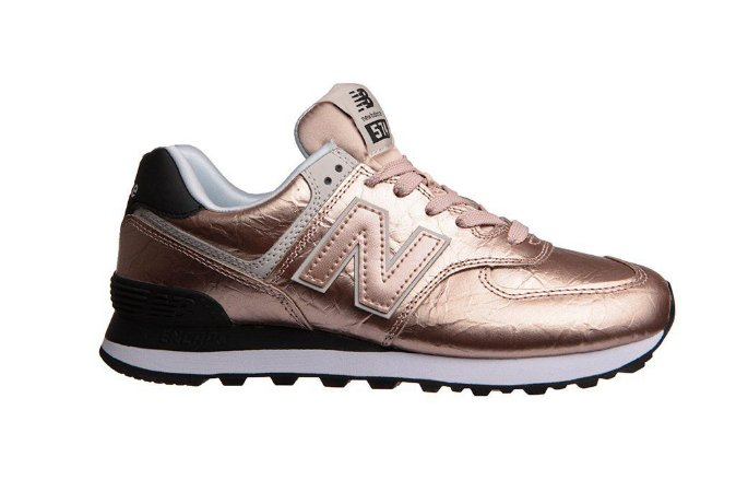 Tênis New Balance 574 - Bronze