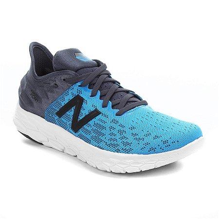 Tênis New Balance Beacon V2 - Azul e Cinza