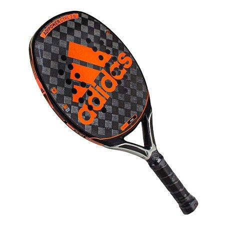 Raquete de Beach Tennis Adidas - Adipower Control 2.0 - Laranja
