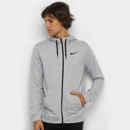 Blusa Moletom Nike Dry Hoodie - Cinza