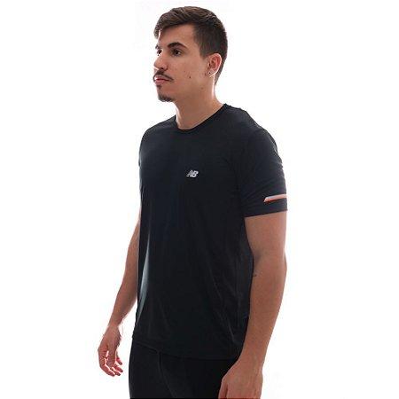 Camiseta New Balance BMT - Preta