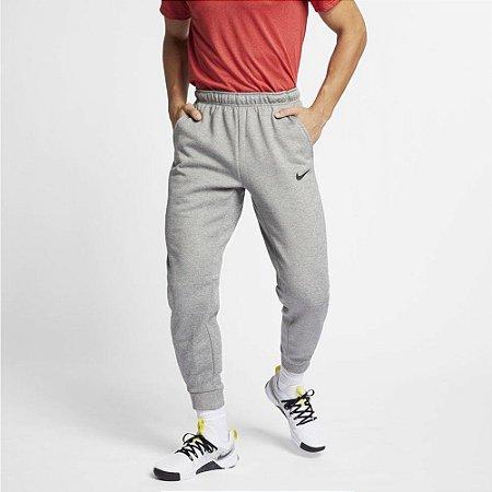 Calça Moletom Nike Therma DRI FIT - Cinza/Mescla