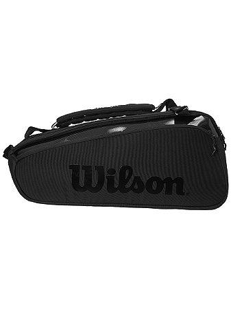 Raqueteira Wilson Super Tour Pro Staff X9 - Preta